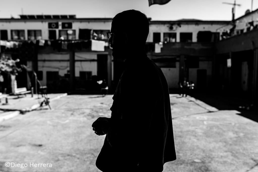 Ahmoud, refugiado y ex miembro de las YPG